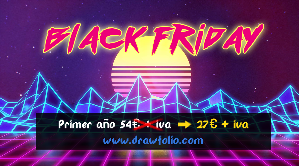 BLACK FRIDAY: -50% hasta el Domingo