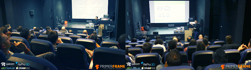 Talk at Primer Frame School with 3DValue and Repro3D
