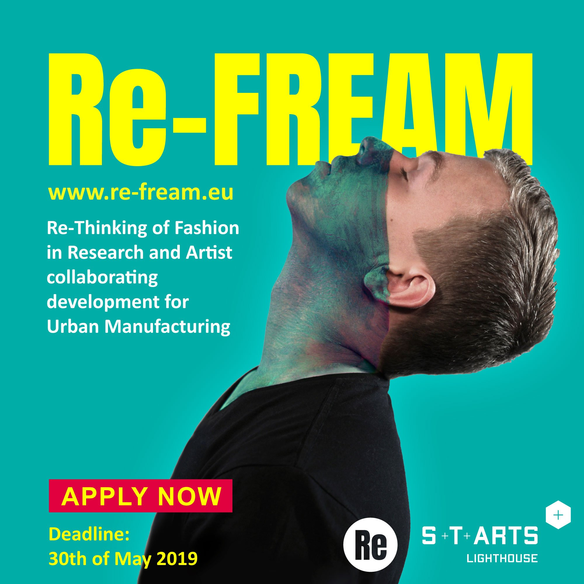 Re-Fream looks for artists and designers to Re-Think Fashion