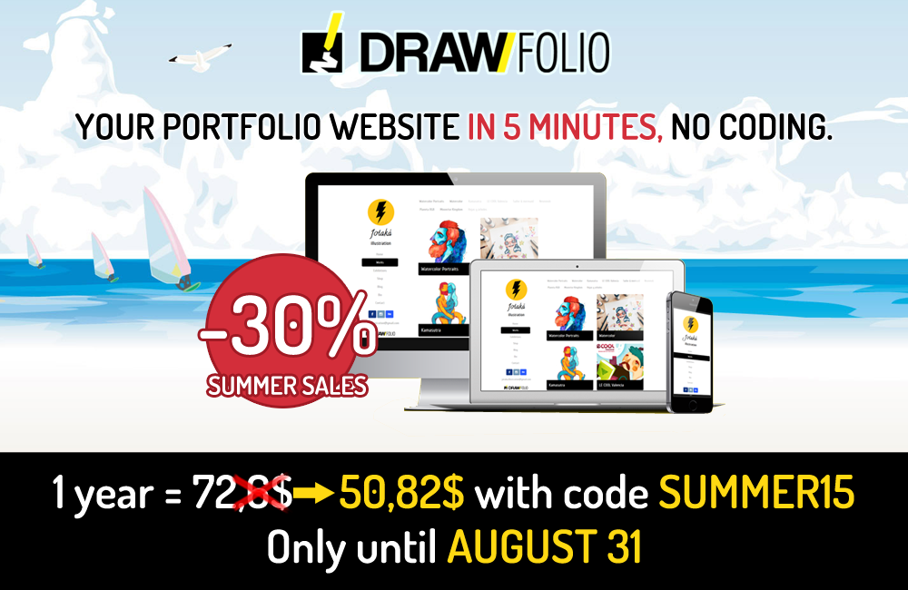 Summer sale: -30% until August 31